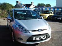 2010 60 Ford Fiesta 1.4TDCi Zetec 5d **£20 Tax / FSH**