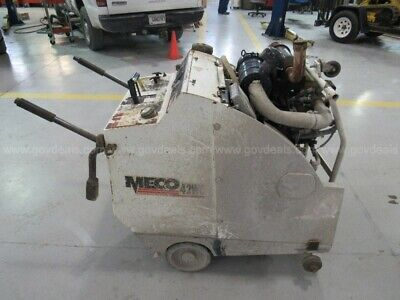 Meco M42 - 30 Commercial Walk Behind Concrete Saw