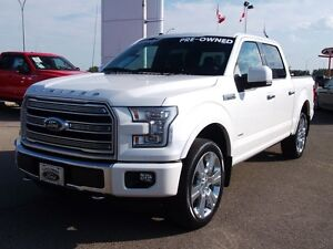 2016 Ford F-150 LIMITED CERTIFIED PRE-OWNED