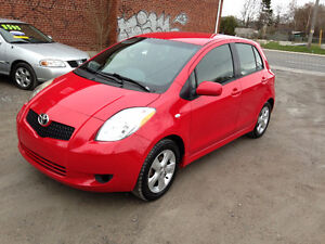 2007 TOYOTA YARIS LE LOADED ONLY 165000 KM