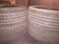 4 used GoodYear Wrangler tires for sale. P275/60R20