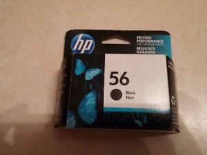 HP BLACK INK CARTRIDGE #56