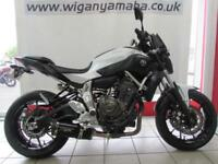 2015 YAMAHA MT-07 IMMACULATE BIKE WITH 1750 MILES AND ALL BOOKS AND KEYS