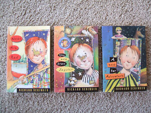 3 Richard Scrimger-humorous chapter books