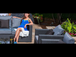 Patio Set- Jenna Collection from Pioneer Pools