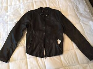 Brand new Leather like Moto Jacket Le Chateau  St. John's Newfoundland image 1