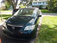 2002 Mazda MPV Fourgonnette, fourgon