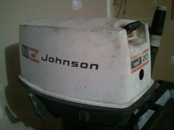 Used 1970 Johnson 20hp