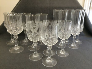 Collectible Antique Large Lot of Crystal Stemware London Ontario image 1