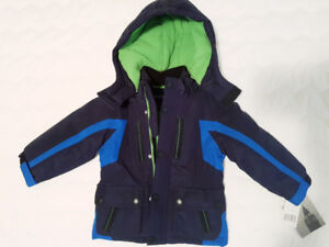2T toddler size 2 London Fog winter coat NEW with tags