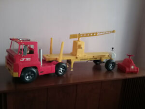 1965 Johnny Express Truck & Flatbed With Crane