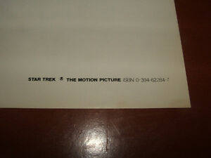 NEW LOW PRICE Star Trek the Motion Picture rare promo poster Stratford Kitchener Area image 10