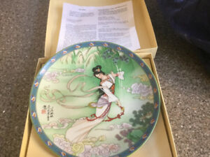 Series of collectable plates 'Legends of West Lake'