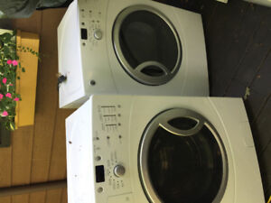 GE high efficiency washer and dryer for sale