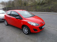 MAZDA 2 TS 3 DOOR HATCH AIR CON 41,000 MILES ONLY £30 A YEAR RFL 2011-61
