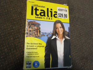 Learn Italian - Instant Immersion - Levels 1,2 and 3