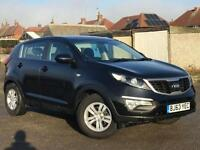 2013 63 KIA SPORTAGE 1.7 CRDI 1 OWNER FROM NEW (EXCELLENT FUEL ECONOMY)