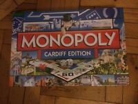 Monopoly - Cardiff Edition, board game. Brand new sealed in box!