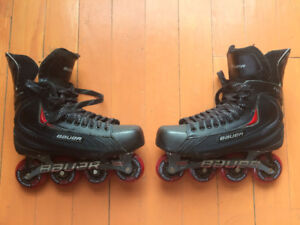 Bauer Vapor RX05 Roller skates for sale!! Used Twice only!!