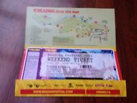 READING WEEKEND FESTIVAL TICKET FOR SALE