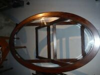 glass top coffee table , in my way need to sell.