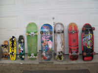 "8 skateboards, 31"" ,22 "" or 18"" Laval / North Shore Greater Montréal Preview"