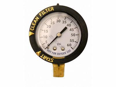New Replacement For Hayward ECX271261 Filter Pressure Gauge -