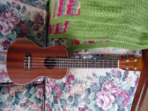 NEW PRICE!! Kala Concert Uke with onboard pickup and tuner!