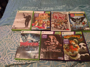 XBOX 360 Games. Great condition, manuel's included. Cambridge Kitchener Area image 1