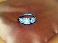 Bouquet White Gold .50 ctw Diamond Ring