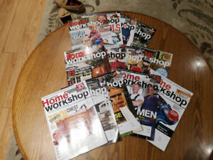 Every Issue of Canadian Home Workshop Magazine