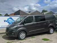 FORD CUSTOM 320 L2H1 130PS LIMITED LWB DCIV Double Cab Van Crew