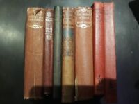 Old hardback books great for a library