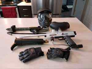 Paintball Gun With All Accessories