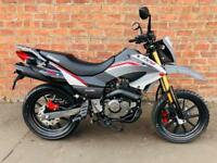 NEW Euro4 Keeway TX 125 learner legal own this bike for only £9.77 a week