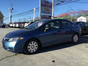 2009 Honda Civic DX Free winter tires on all cars and SUV'S