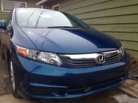 2012 Honda Civic Ex Sedan   25767 KM
