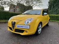 2013 Alfa Romeo MiTo 1.4 TB MultiAir 135 Distinctive 3 Door Hatchback Petrol Man