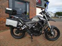 SINNIS TERRAIN 125cc ADVENTURE - BRAND NEW LEARNER LEGAL - £50.36 PER MONTH !!!