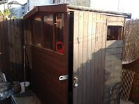 QUICK SALE , A SPACIOUS (6 x 4) SHED WITH 3 WINDOWS. AVERAGE CONDITION