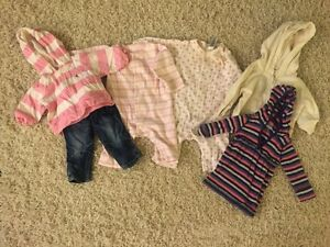 Size 3-6 mos brand name lot (6 items)