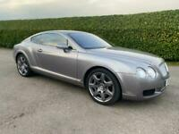 Bentley Continental GT Mulliner 6.0 W12 Automatic Silver 2005 05 reg