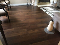Engineered flooring installation services