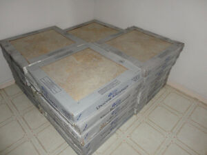 "Top Quality Ceramic Tiles - 400 sq feet - 18"" sq each - thick"