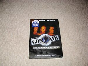 CON AIR/BROKEN ARROW/SPEED 2 DVDS SET FOR SALE!