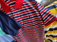 Boys shirts big brand names Polos lg
