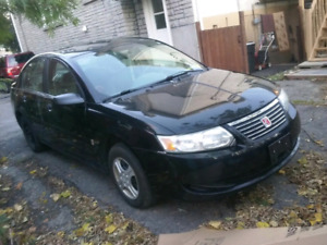 2005 Saturn ion as is with safety and emission