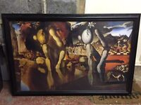 Large Dali Framed Print