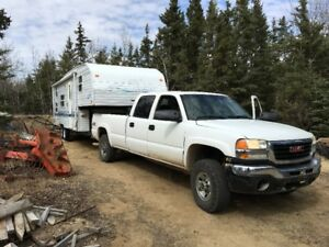 Truck and Fifth wheel Package or seperate. Make an offer