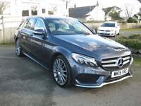 2015/15 Mercedes-Benz C Class C200 CDI BlueTEC AMG Line 7G-Tronic Premium Plus